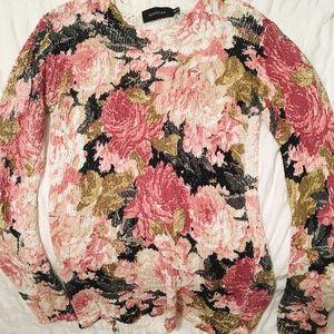 Minkpink Flower Sweater Dress (XS)